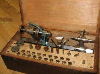 boley lathe in its box