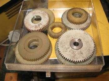 Change Gears for Hobbymat MD65