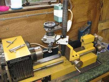 hobbymat lathe with unimat mill and dividing head