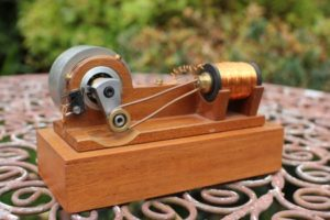 Solenoid Engine - Crank, timing, connecting rod and homemade solenoid