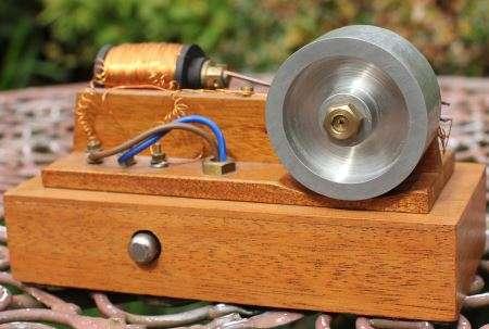 single solenoid motor
