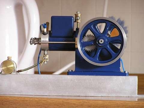 open crank farm engine