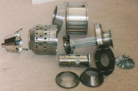Denver designed jet engine