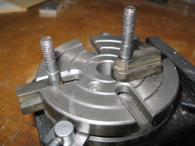 long T-nuts for rotary table