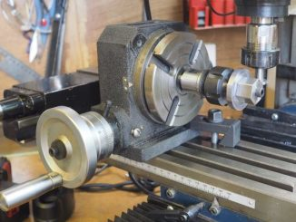 gear cutting with rotary table