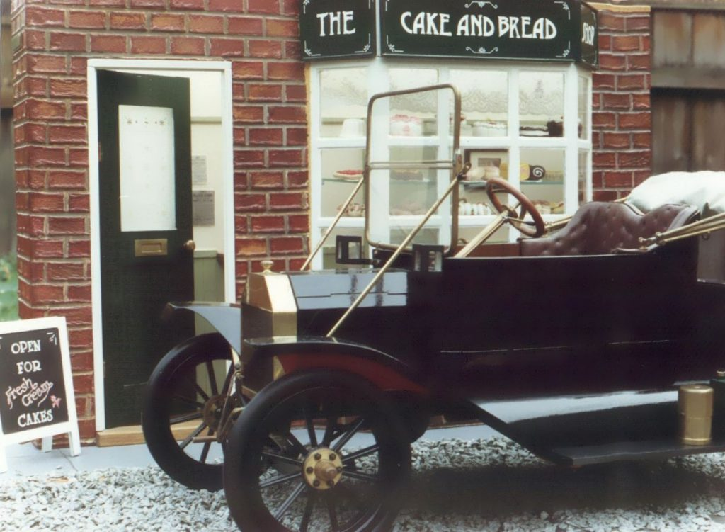 Ford Model T and Cake Shop