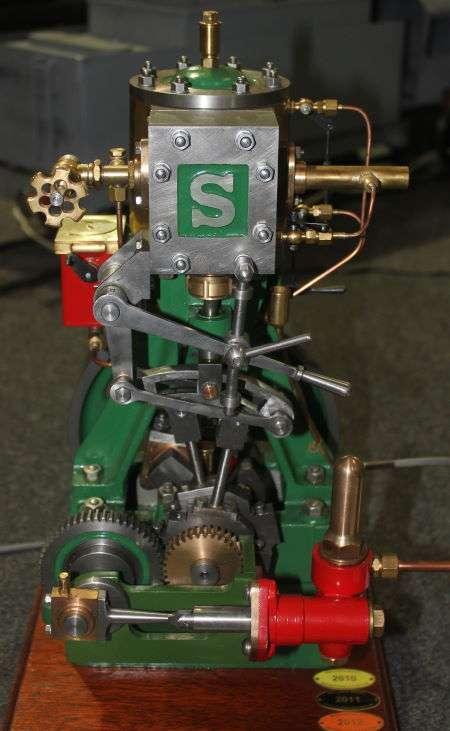 stuart models 5a steam engine