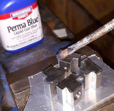 gun blue on t-nuts