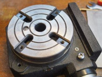 Warco HV4 rotary table