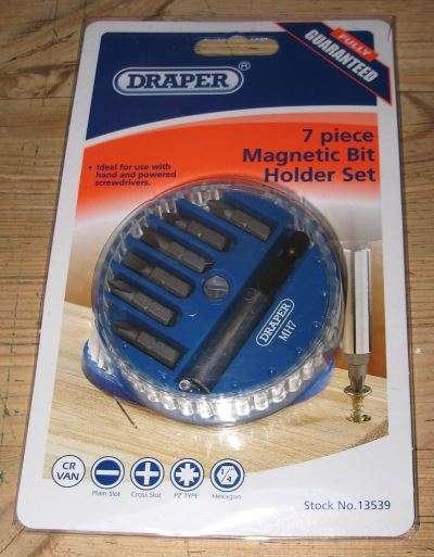 draper magnetic bit holder set