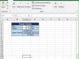 workshop calculatios