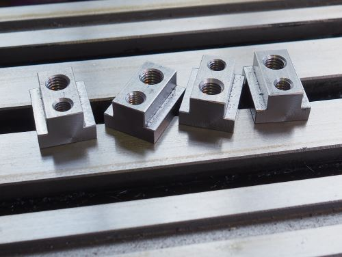 double threaded T-nuts