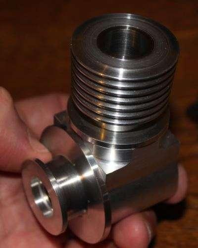 single cylinder poppet valve engine