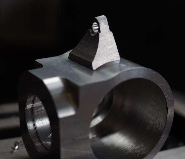 crankcase and engine bracket