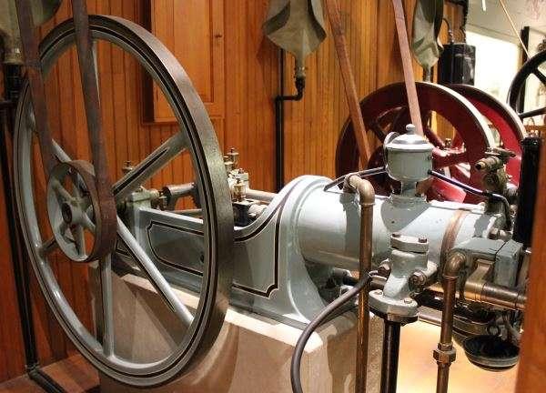 Otto Silent Gas Engine