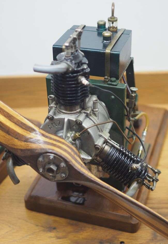 Anzani 3 Cylinder Radial