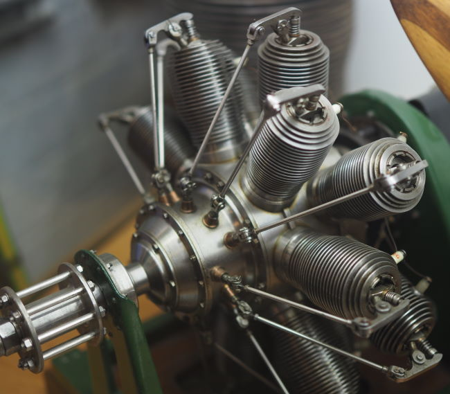 gnome 14 cylinder rotary