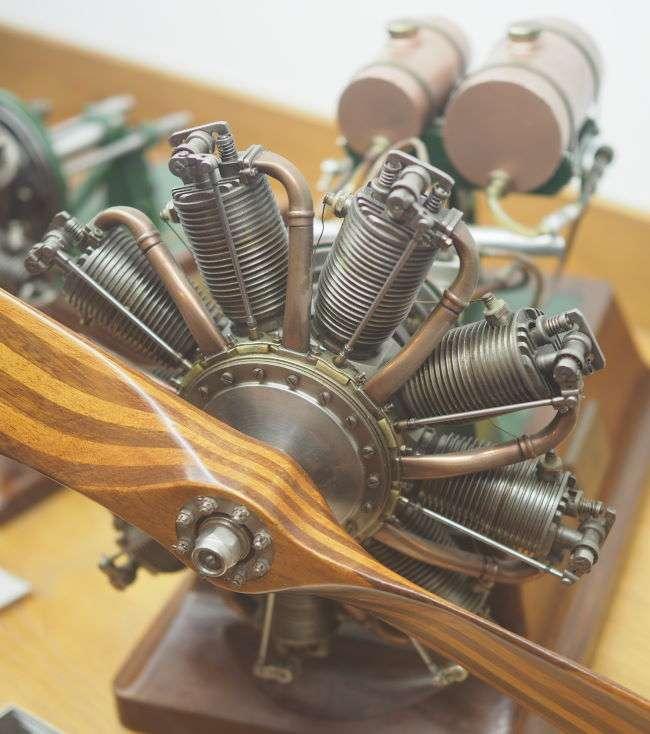 le Rhone 9 cylinder Rotary