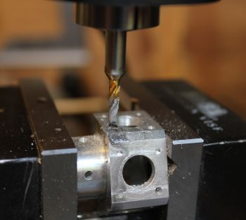 milling out a broken tap