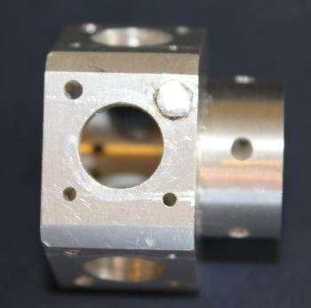 aluminium plug repair in crankcase