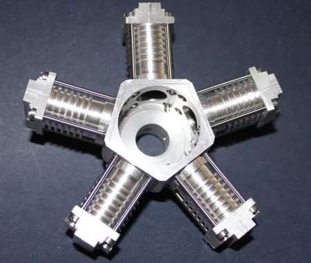 rotary crankcase and cylinders