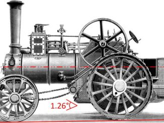 traction engine boiler angle
