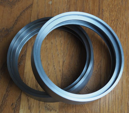 wheel rims accurately machined