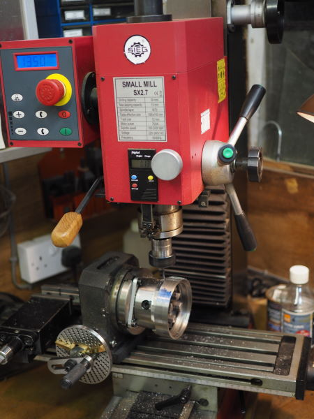 milling machine setup