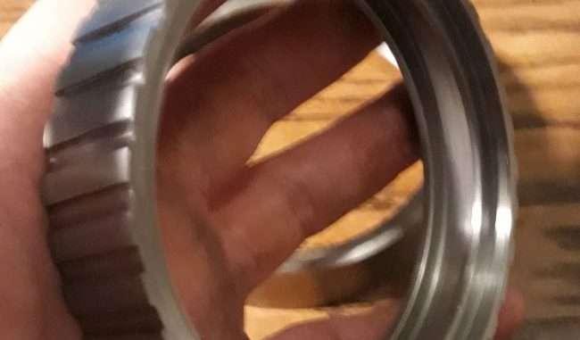 rear wheel treads machined
