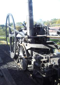 a copy of Richard Trevithicks steam engine