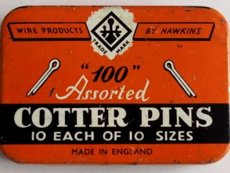 tin of cotter pins