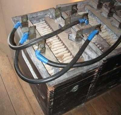 old lead acid battery