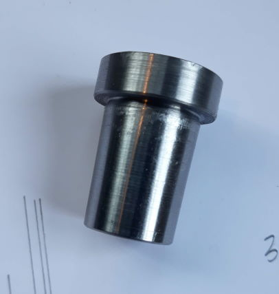 mandrel used to align hubs