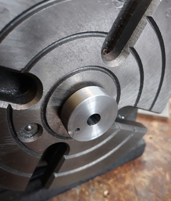 mandrel in rotary table