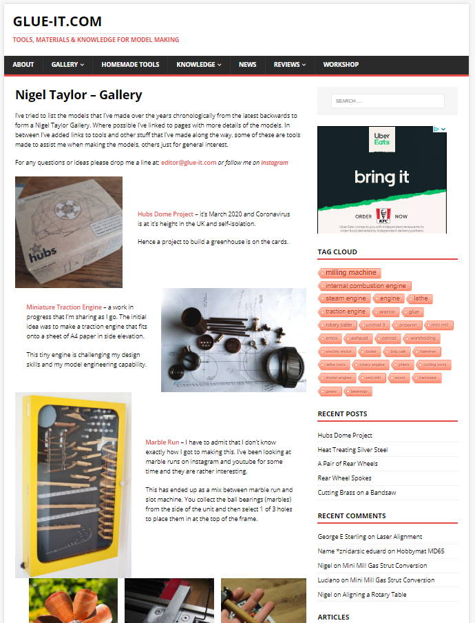 Nigel Taylor Gallery Page