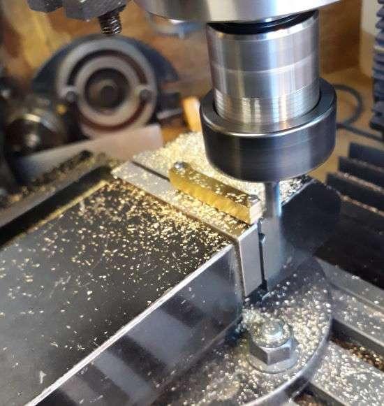 machining spoke blanks