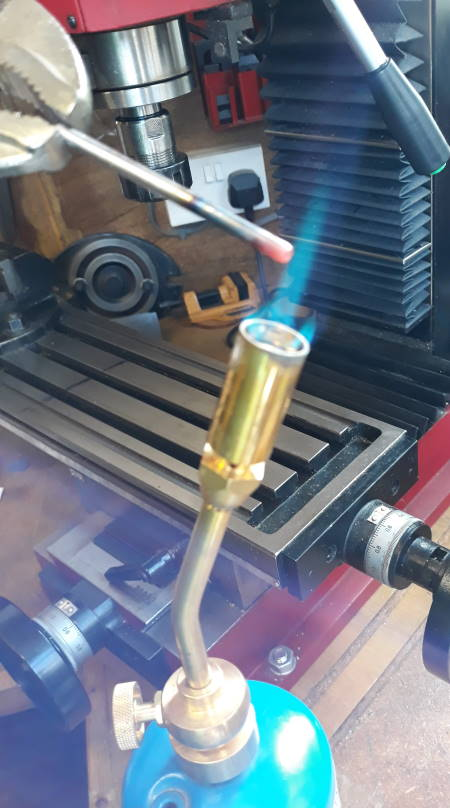 heat treating silver steel