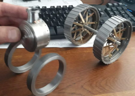 traction engine front rim blanks