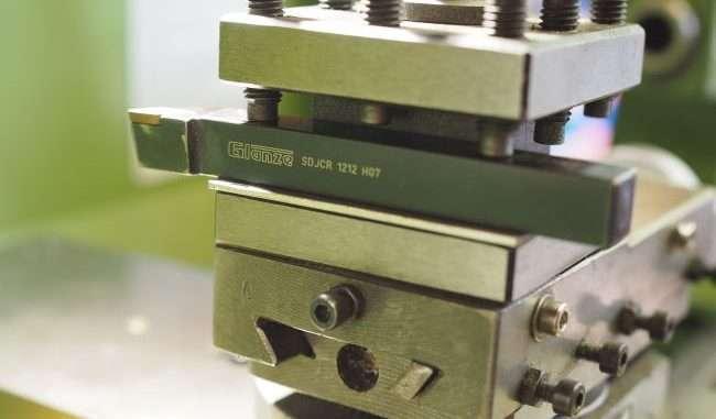 lathe tool post