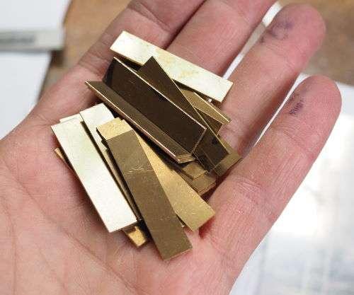 brass blanks for spokes