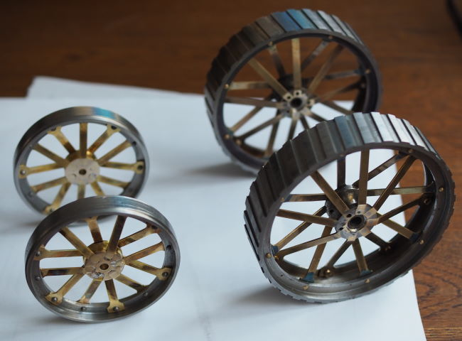 traction engine wheels