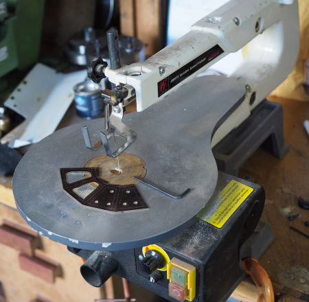 fretsaw cutting brass
