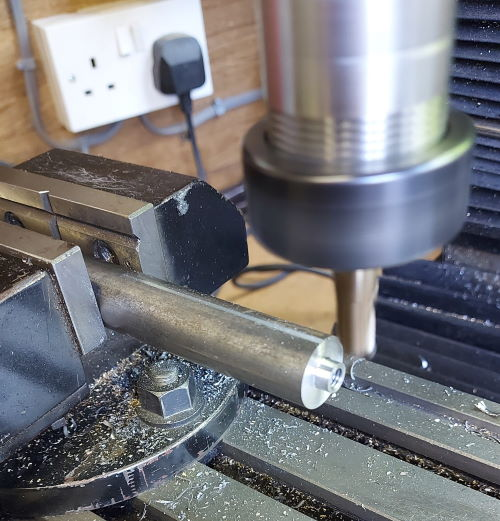 machining square section from 3/4 inch mild steel
