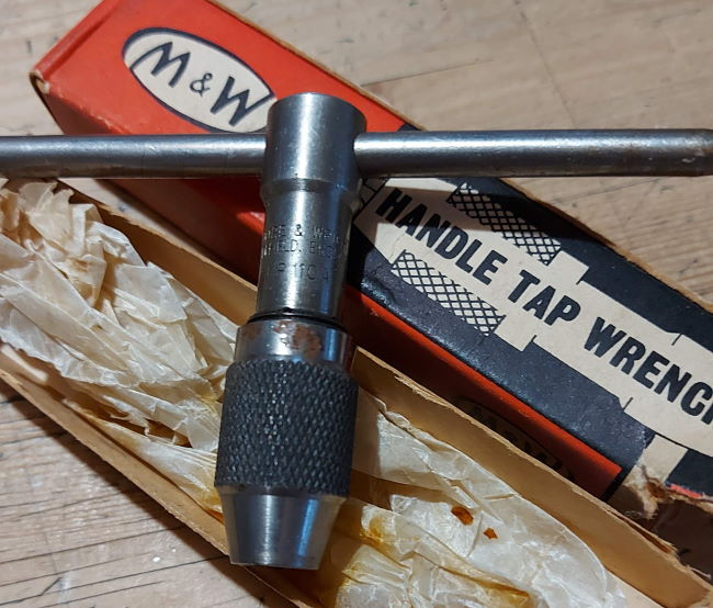 Moore and Wright Tap wrench
