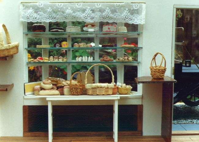 inside the cake shop