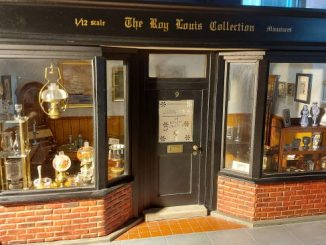 1/12th scale antiques shop