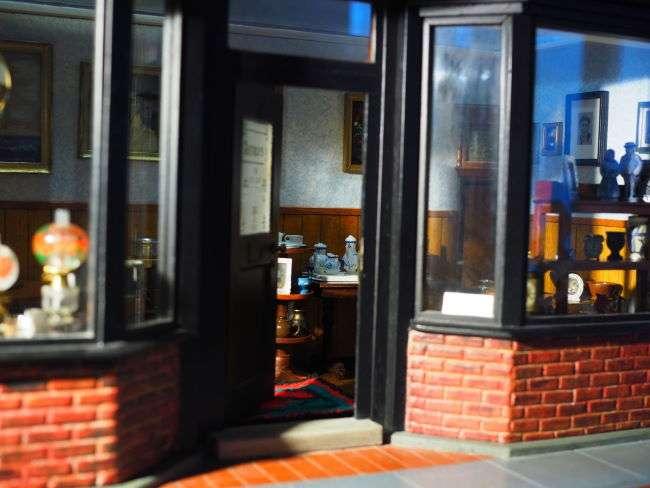 antique shop door