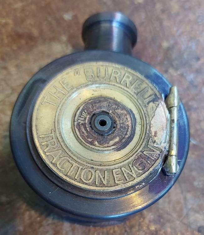 smokebox door and hinge