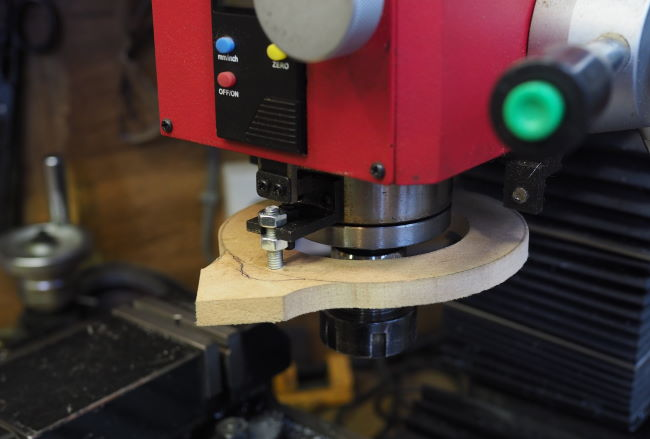 light attachment to spindle