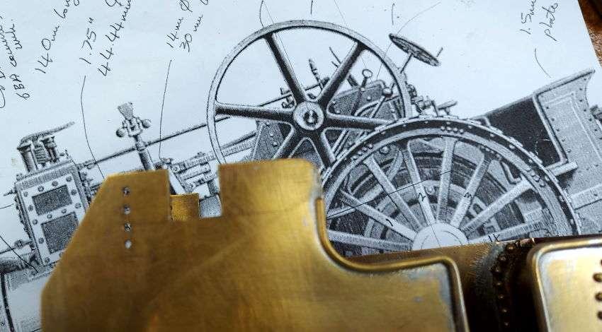 Burrell crank bearings
